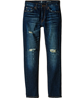 7 For All Mankind Kids - Paxtyn Jeans in Bonzai Blue Destroyed (Big Kids)