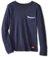 7 For All Mankind Kids - Long Sleeve Pocket Tee (Big Kids)