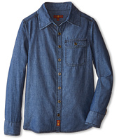 7 For All Mankind Kids - Chambray Denim Shirt (Big Kids)