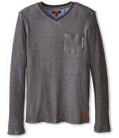 7 For All Mankind Kids - Long Sleeve Slub Jersey Tee (Big Kids)