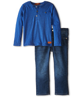 7 For All Mankind Kids - Pocket Tee and Denim Set (Toddler)
