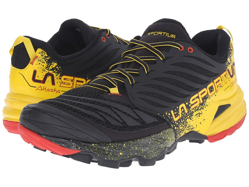 La Sportiva Akasha Black/Yellow Mens Shoes