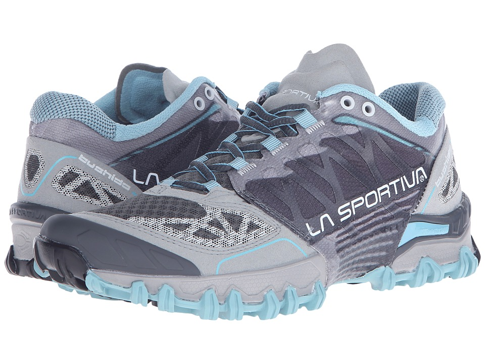 La Sportiva Bushido Ice Blue/Grey Womens Running Shoes