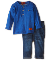 7 For All Mankind Kids - Pocket Tee and Denim Set (Infant)