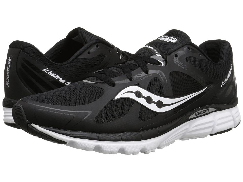 Saucony - Kinvara 6 (Black/White) Mens Running Shoes