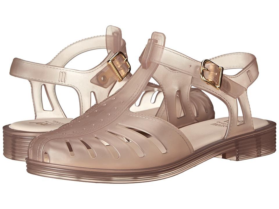Mini Melissa Mel Aranha 1979 Little Kid/Big Kid Clear Beige Girls Shoes