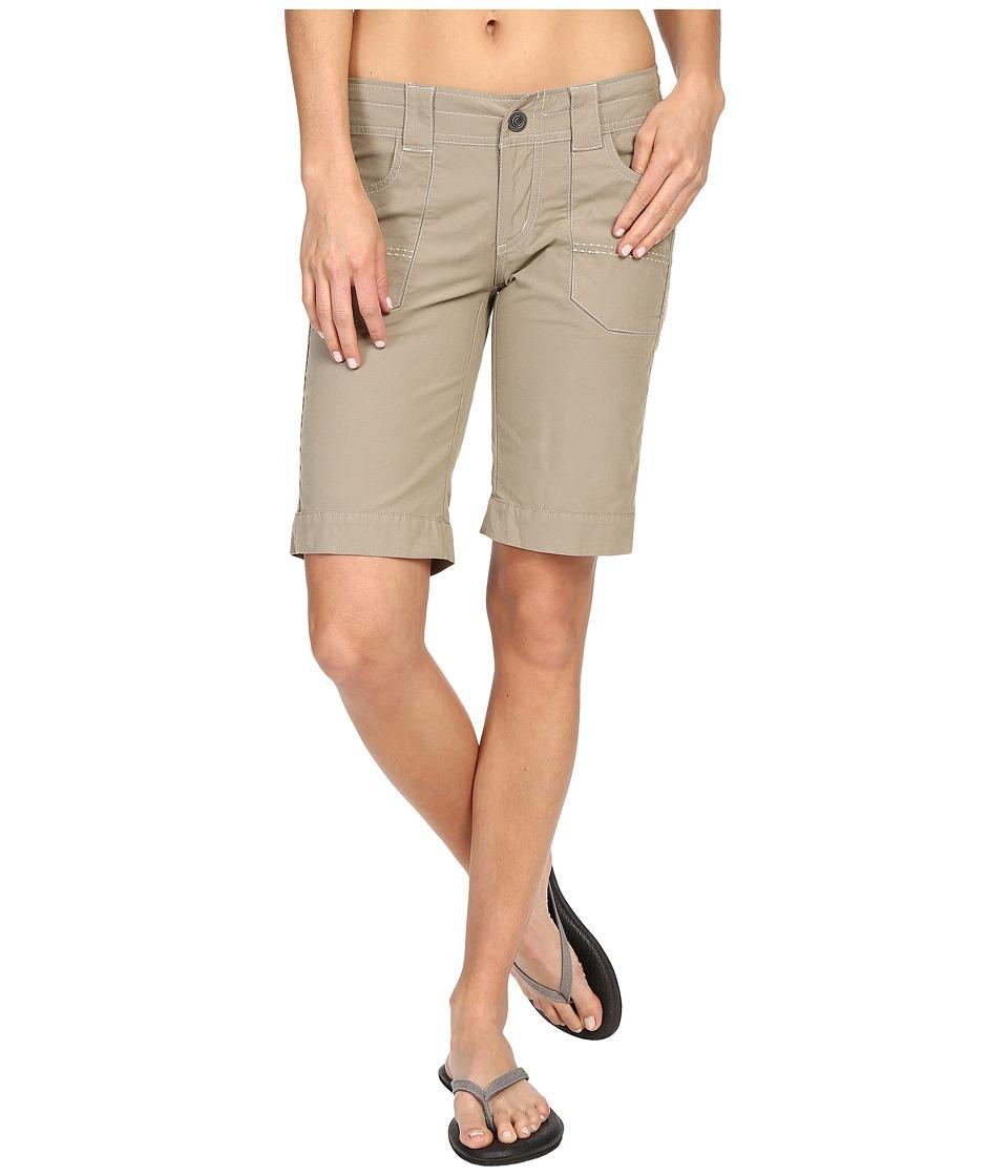 Kuhl Kendra Cuff Shorts Khaki Womens Shorts