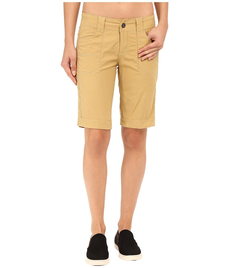Kuhl Kendra Cuff Shorts Camel Womens Shorts