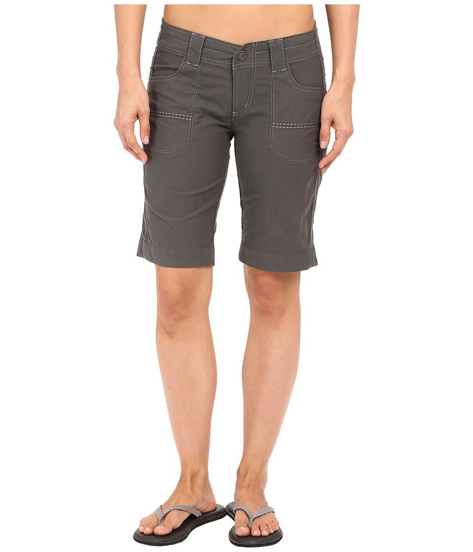 Kuhl Kendra Cuff Shorts Carbon Womens Shorts