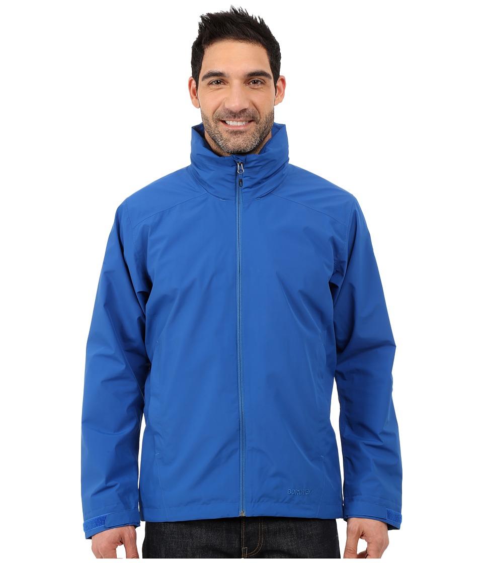 adidas Outdoor All Outdoor 2L GORE TEX Wandertag Jacket Blue Mens Coat