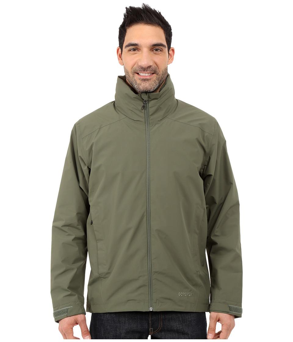 adidas Outdoor All Outdoor 2L GORE TEX Wandertag Jacket Base Green Mens Coat