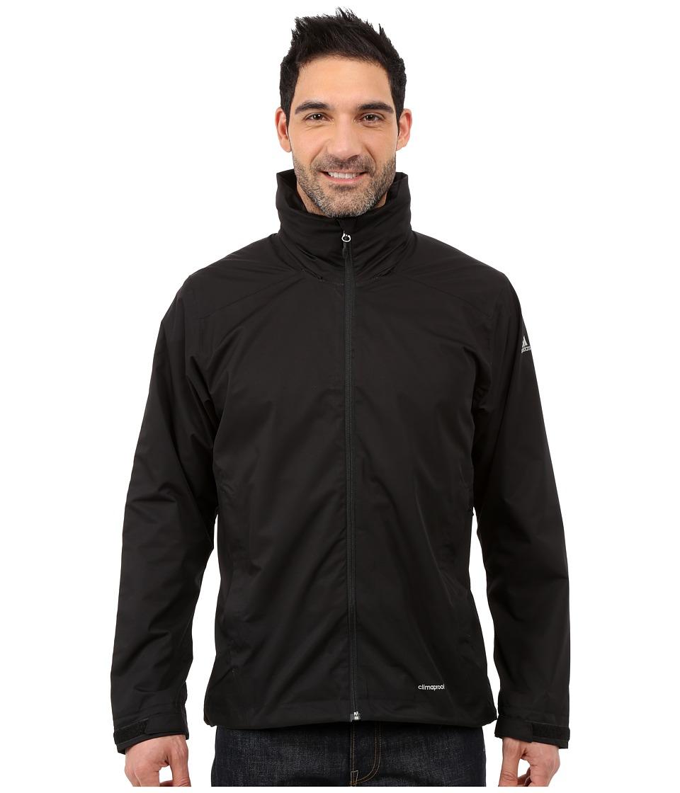 adidas Outdoor All Outdoor 2L Wandertag Solid Jacket Black Mens Coat