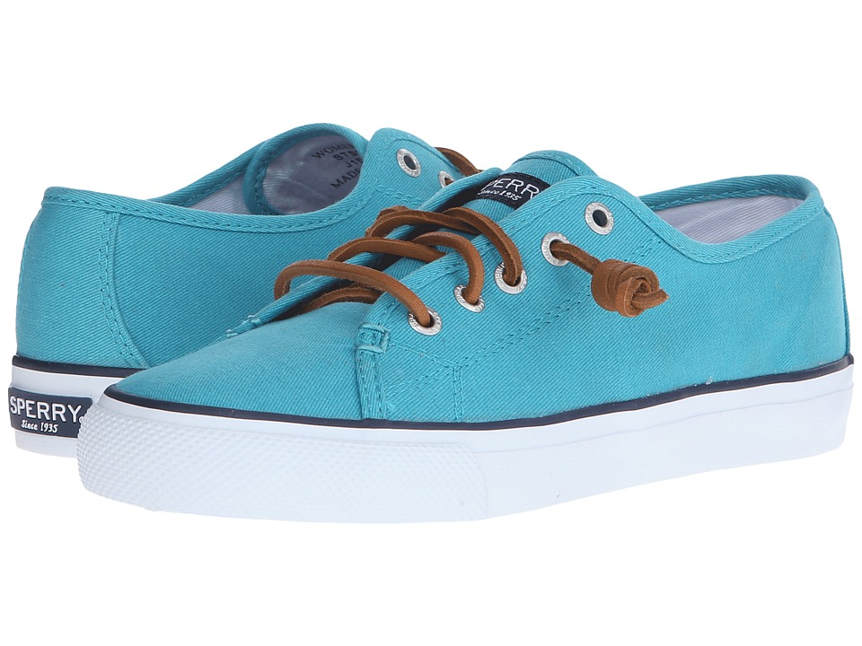 Sperry Top-Sider - Seacoast Canvas (Teal) Women