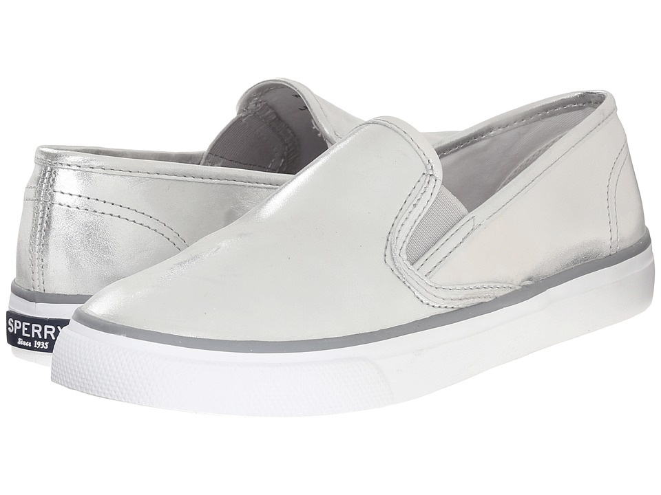 Sperry Top-Sider - Seaside Metallic (Silver) Women