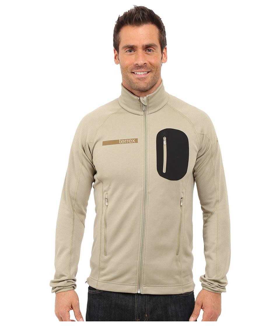 adidas Outdoor - Terrex Coco Fleece Jacket (Tech Beige) Men