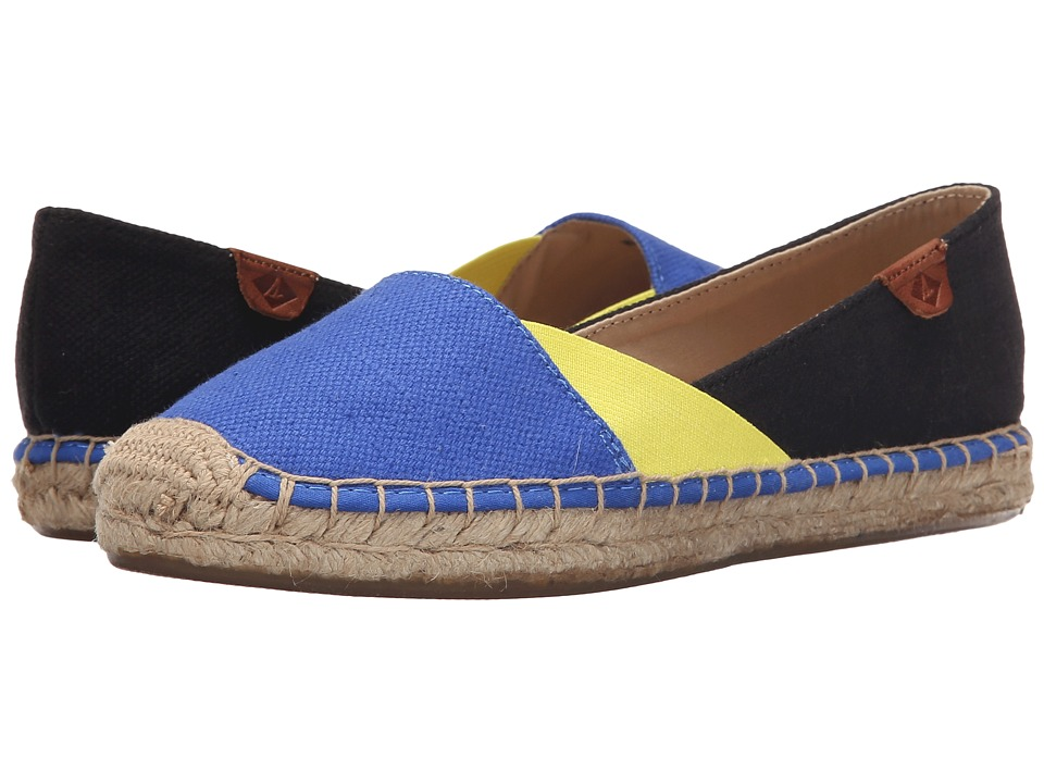 Sperry Top-Sider - Katama Cape Color-Block (Baltic Blue/Light Yellow/Black) Women