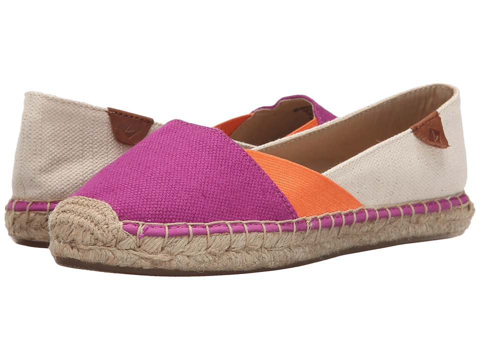 Sperry Top-Sider - Katama Cape Color-Block (Bright Pink/Bright Orange/Natural) Women