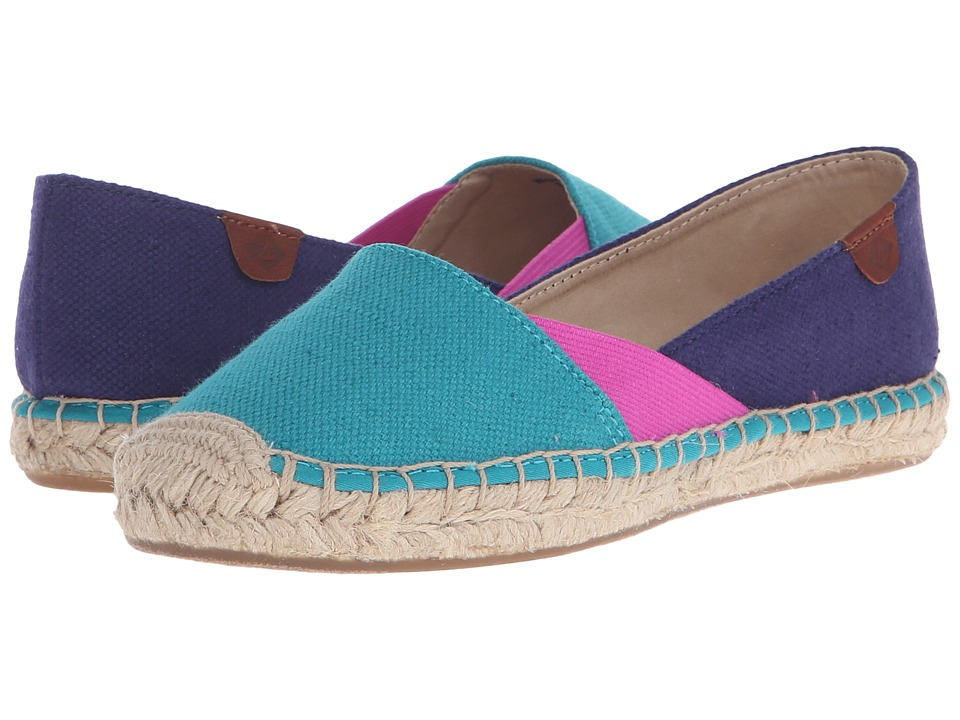 Sperry Top-Sider - Katama Cape Color-Block (Teal/Bright Pink/Navy) Women