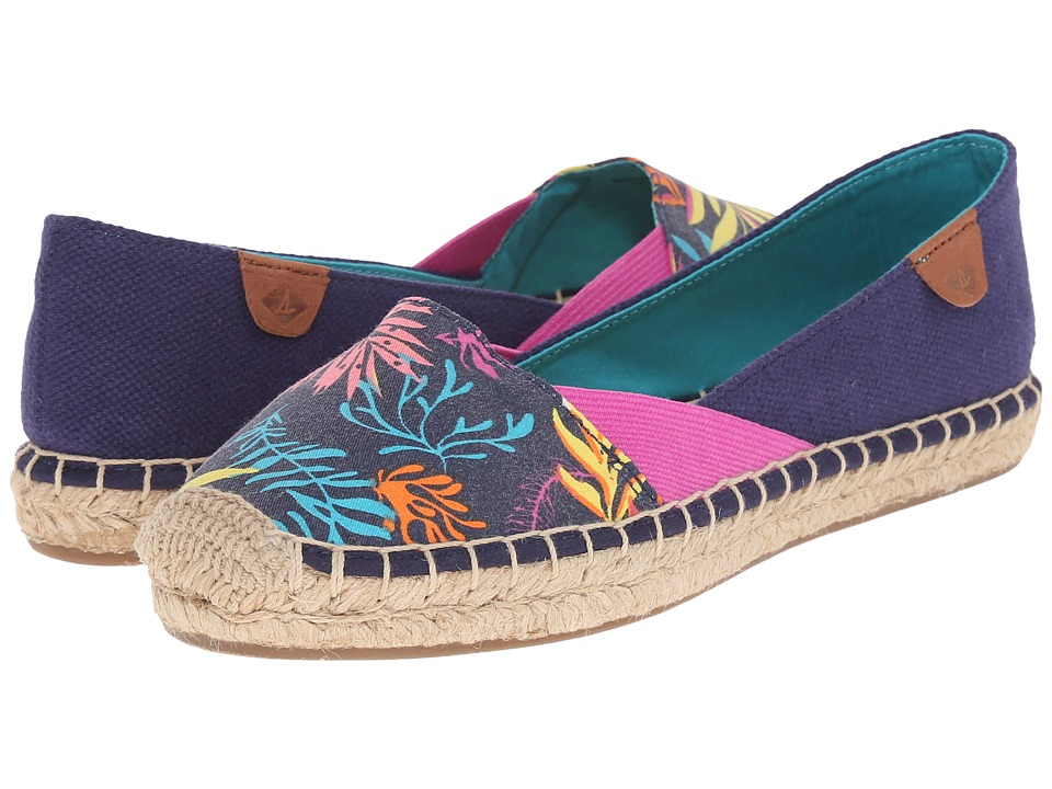 Sperry Top-Sider - Katama Cape Prints (Blue Seaweed) Women
