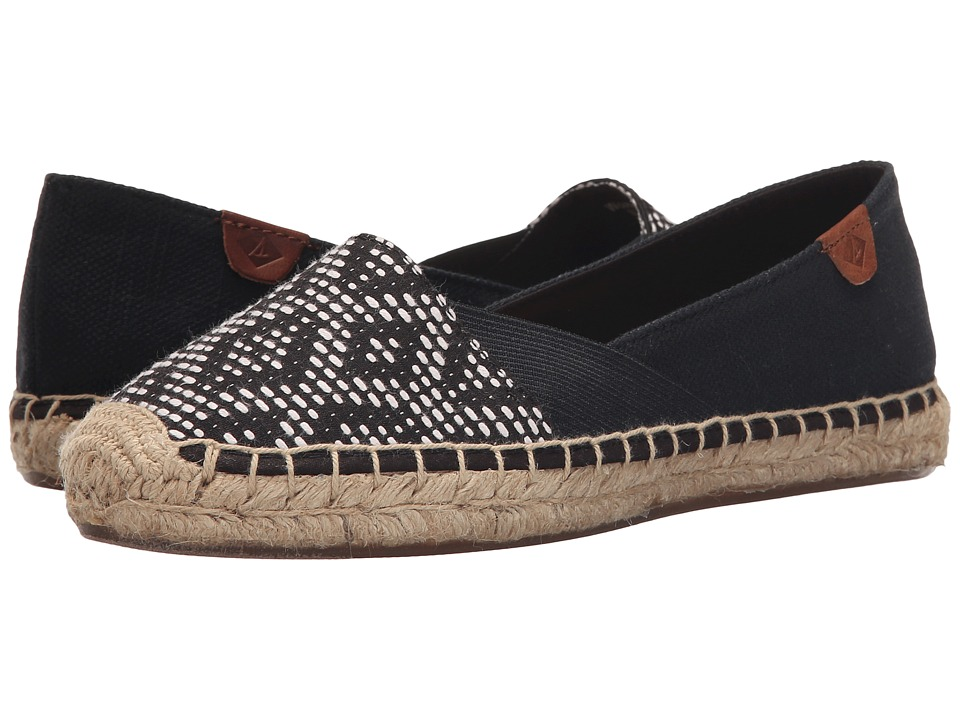 Sperry Top-Sider - Katama Cape Prints (Black/White Tribal) Women