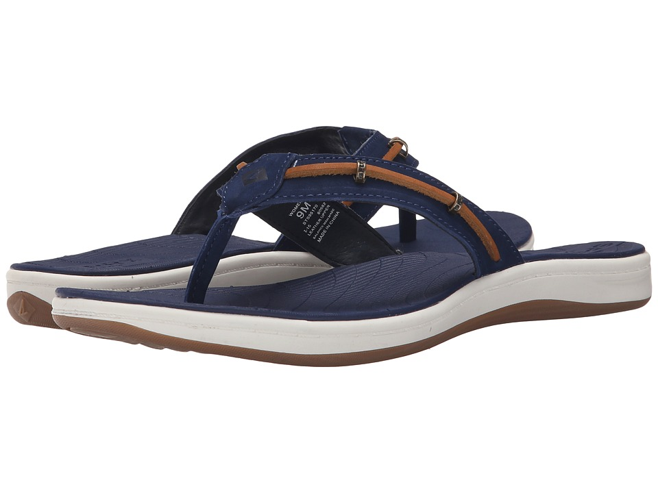 Sperry Top-Sider Seabrook Wave (Navy/Tan) Women