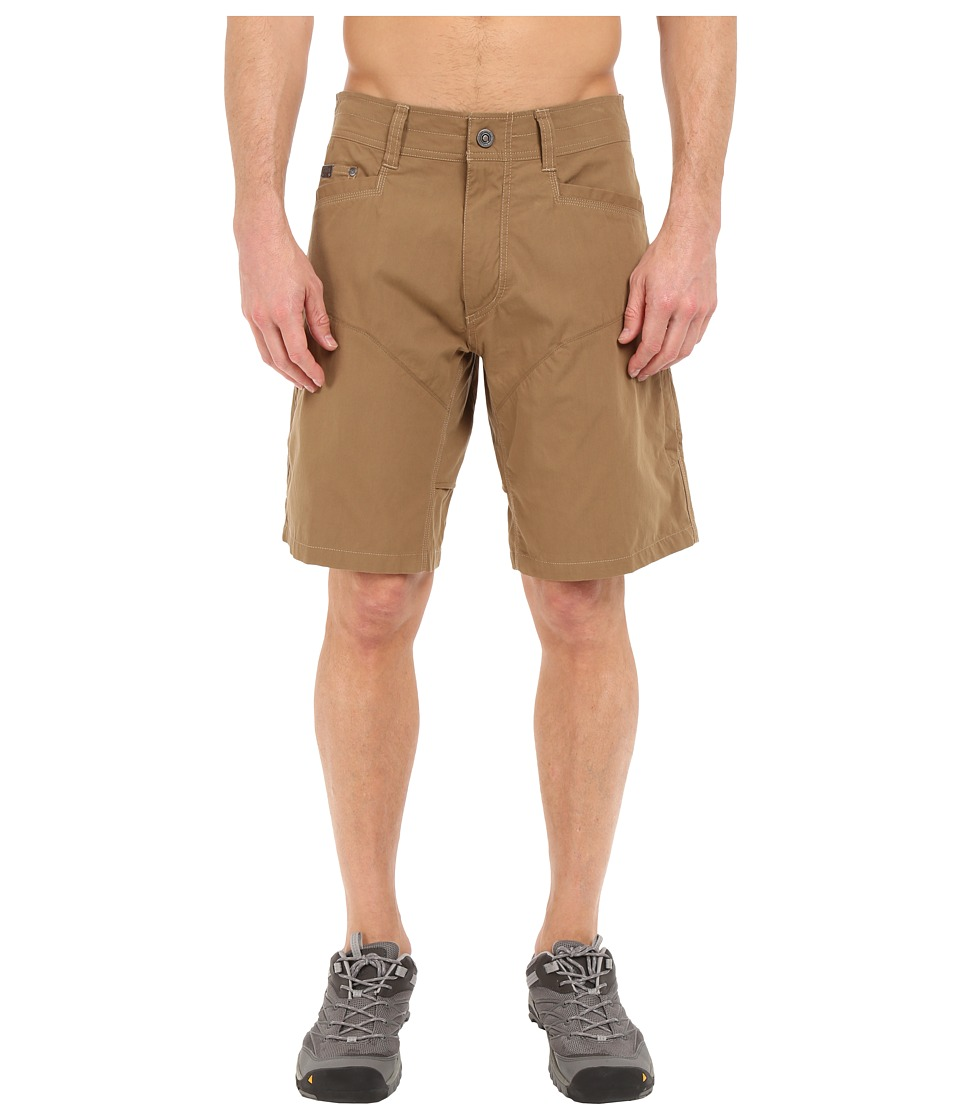 KUHL Konfidant Air Shorts (Dark Khaki) Men