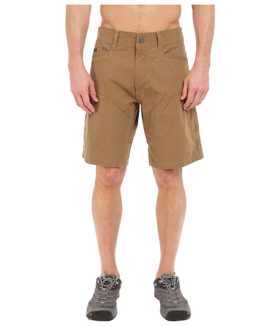 KUHL - Konfidant Airtm Shorts (Dark Khaki) Mens Shorts