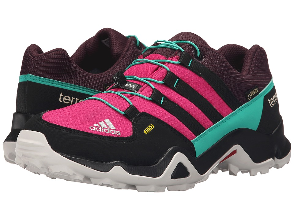 adidas Outdoor Kids Terrex GTX Little Kid/Big Kid Bold Pink/Black/Shock Mint Girls Shoes