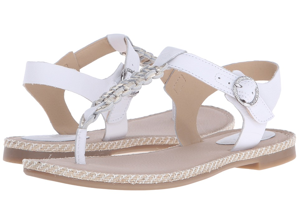 Sperry Top Sider Anchor Away White/Platinum Womens Sandals