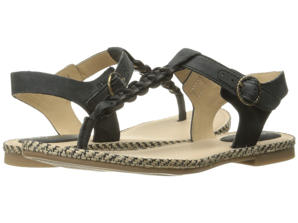 Sperry Top Sider Anchor Away Black Womens Sandals
