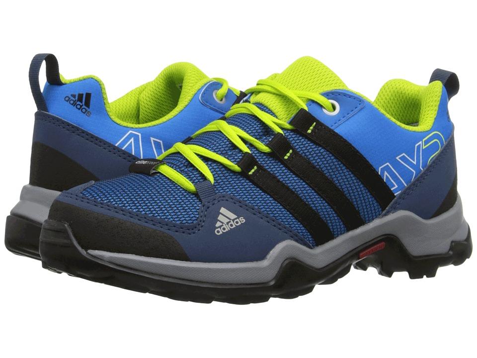 adidas Outdoor Kids AX2 CP Little Kid/Big Kid Shock Blue/Black1/Semi Solar Slime Boys Shoes