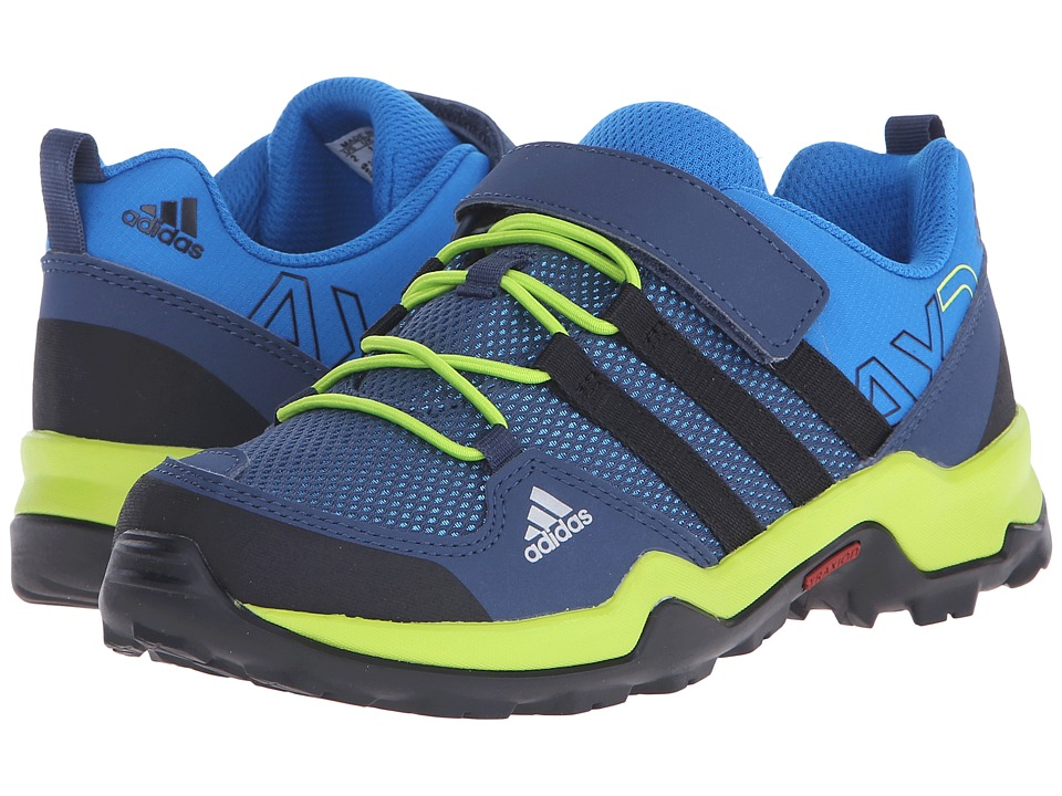 adidas Outdoor Kids - AX2 CF (Little Kid/Big Kid) (Shock Blue/Black1/Semi Solar Slime) Kids Shoes