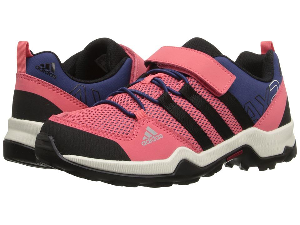 adidas Outdoor Kids AX2 CF Little Kid/Big Kid Super Blush/Black/Raw Purple Girls Shoes