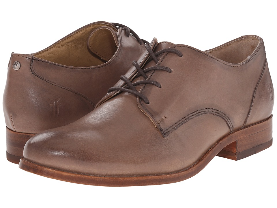 Frye - Melissa Oxford (Cement Smooth Vintage Leather) Women