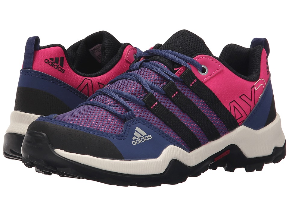 adidas Outdoor Kids AX2 Little Kid/Big Kid Equipment Pink/Black/Raw Purple Girls Shoes