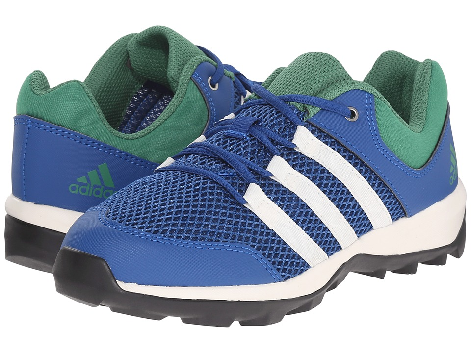 adidas Outdoor Kids Daroga Plus Little Kid/Big Kid Equipment Blue/Chalk White/Blangreen Boys Shoes