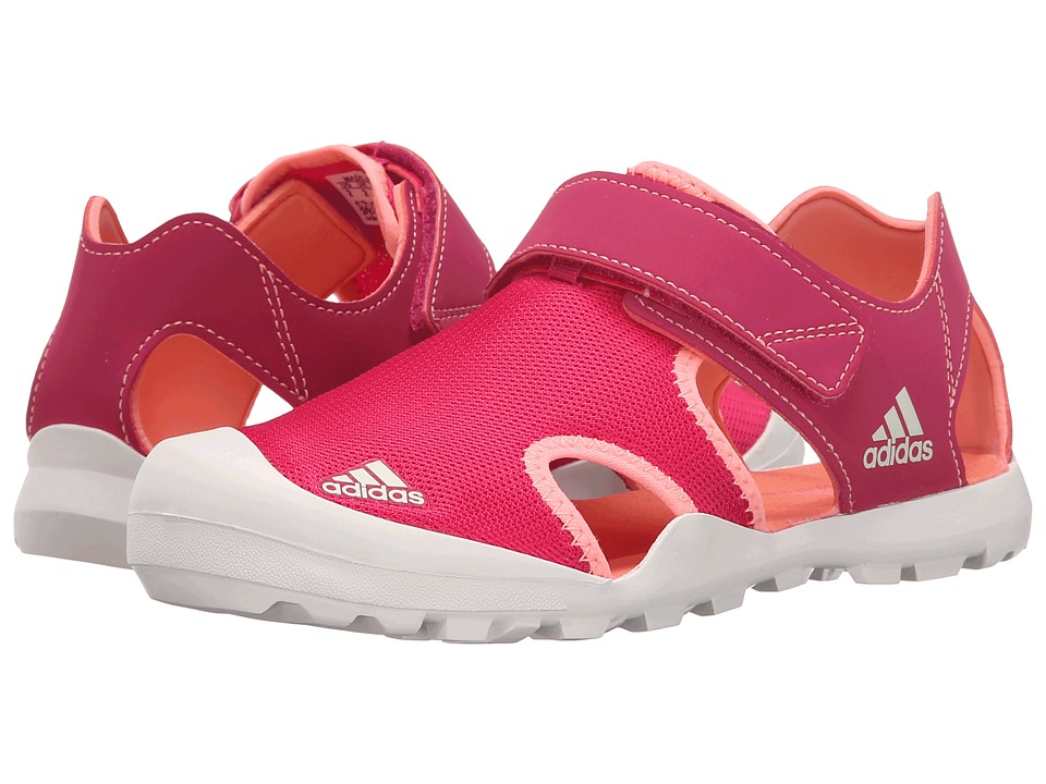 adidas Outdoor Kids Captain Toey Toddler/Little Kid/Big Kid Bold Pink/Sun Glow/Chalk White Girls Shoes