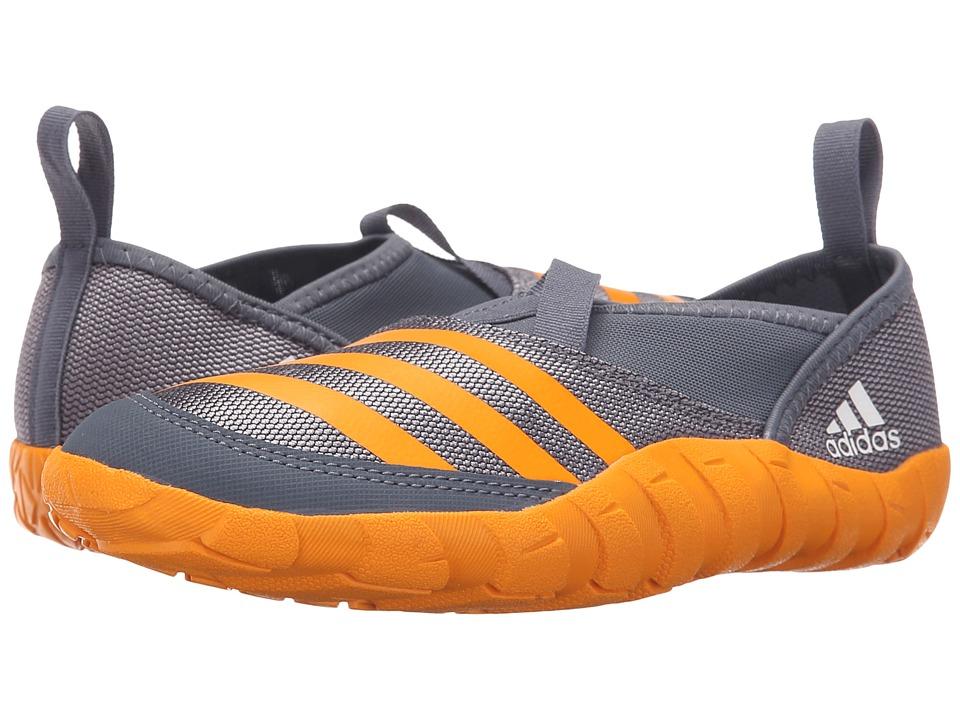 adidas Outdoor Kids Jawpaw Toddler/Little Kid/Big Kid Onix/Equipment Orange/Grey Boys Shoes
