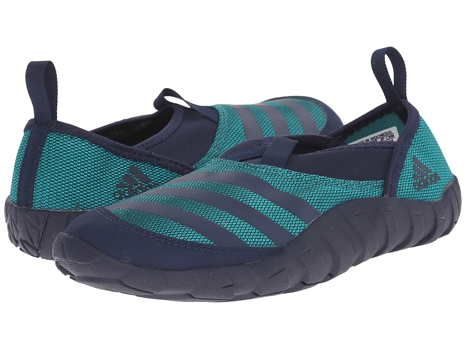 adidas Outdoor Kids Jawpaw Toddler/Little Kid/Big Kid Collegiate Navy/White/Equipment Green Boys Shoes