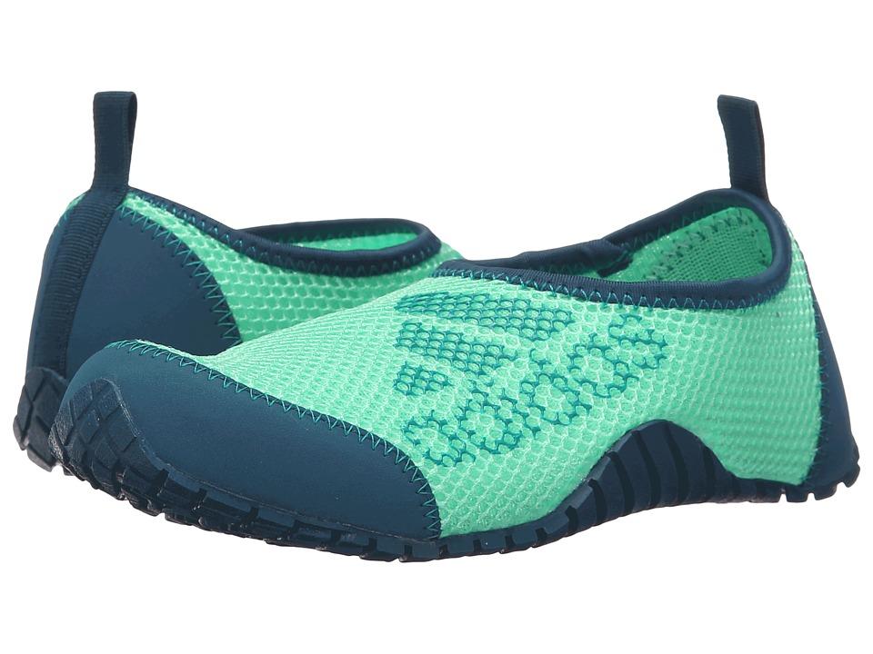 adidas Outdoor Kids Kurobe Toddler/Little Kid/Big Kid Mineral/Equipment Green/Green Glow Boys Shoes