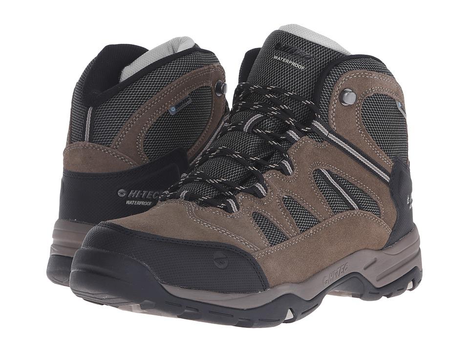 Hi Tec Bandera II Mid Waterproof Smokey Brown/Olive/Snow Mens Boots