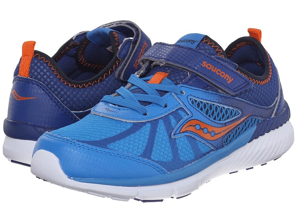 Saucony Kids - Volt A/C (Little Kid) (Blue) Boys Shoes