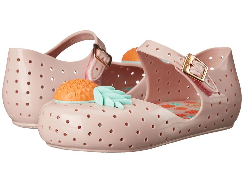 Mini Melissa Furadinha VII Toddler Pink Girls Shoes