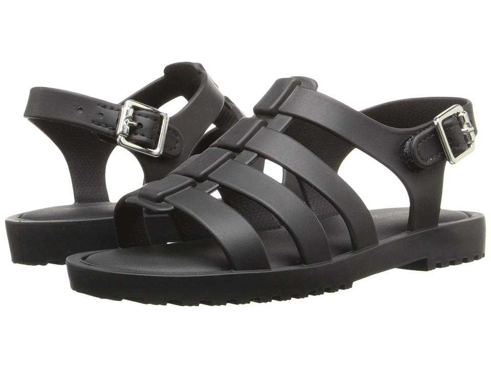 Mini Melissa Flox Toddler Black Girls Shoes