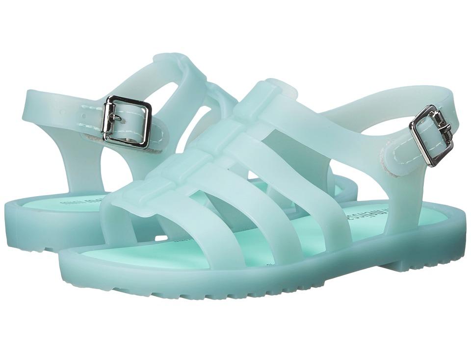 Mini Melissa Flox Toddler Mint Matte Girls Shoes