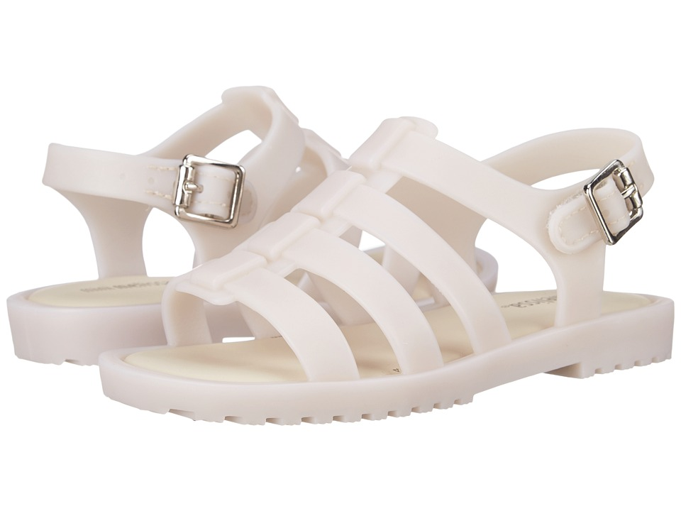 Mini Melissa Flox Toddler Off White Girls Shoes