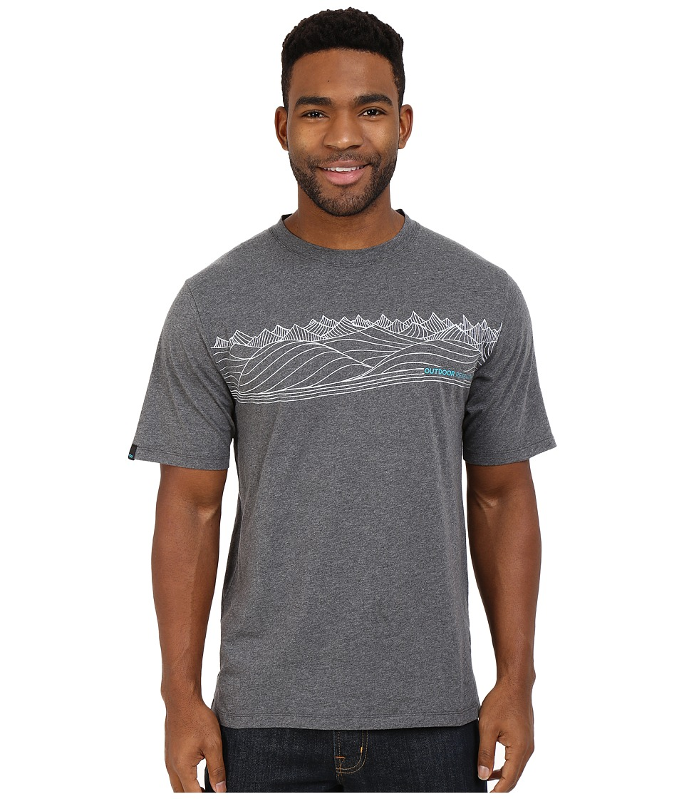 Outdoor Research Prospect Tee (Charcoal Heather) Men