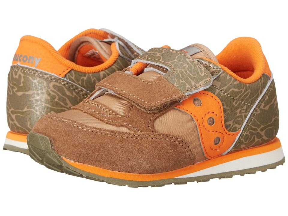 Saucony Kids Baby Jazz HL Toddler/Little Kid Camo Boys Shoes