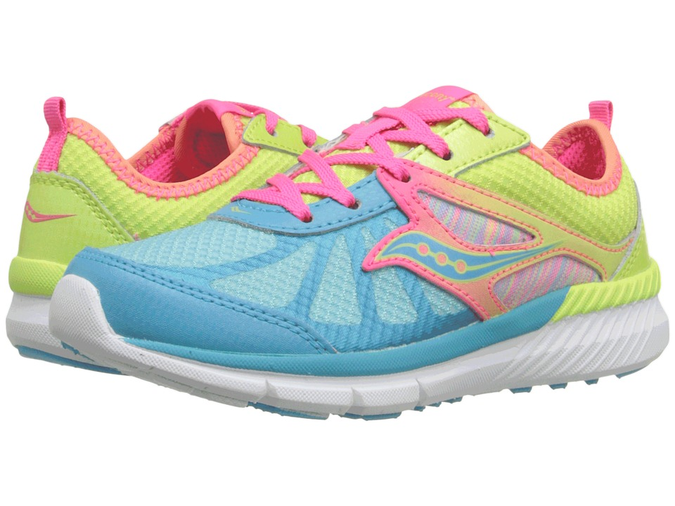 Saucony Kids - Volt (Little Kid) (Mutli) Girls Shoes