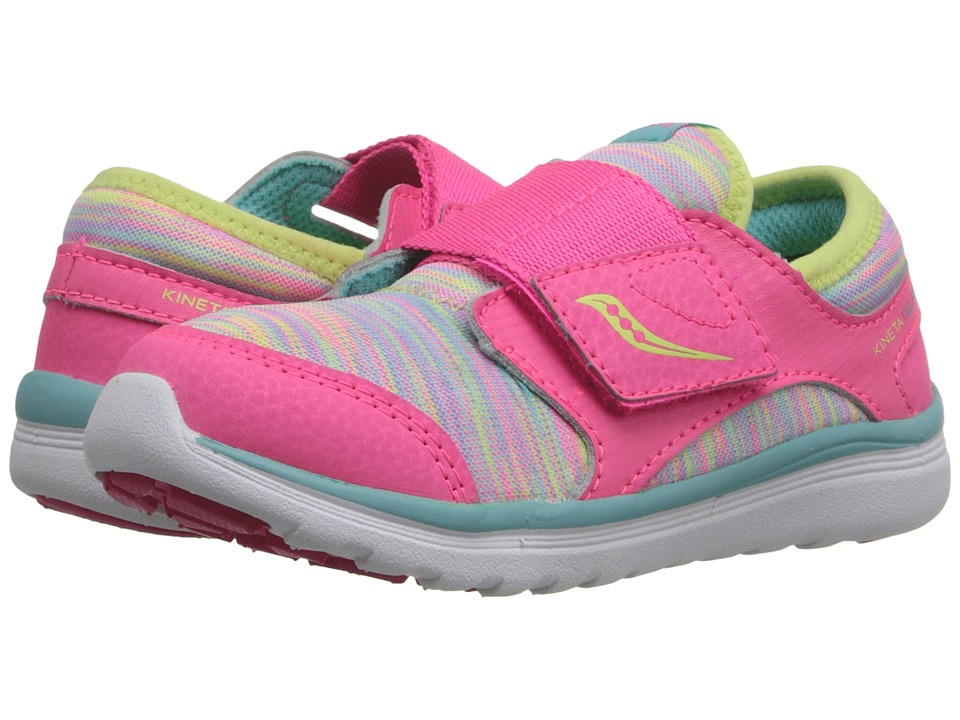 Saucony Kids Kineta A/C Toddler Multi Girls Shoes